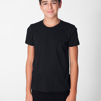 BB201 Youth Poly-Cotton S/S T-Shirt