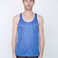 H458 Poly Mesh Athletic Tank