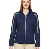Ladies' Strike Colorblock Fleece Jacket