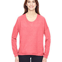 Ladies' Eco-Mock Twist Sunset Crewneck