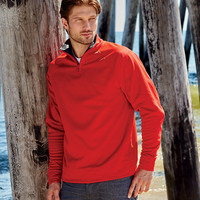® Adult DRI-POWER® SPORT 1/4-Zip Cadet Collar Sweatshirt