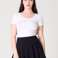 1303 Thick Knit Jersey Skirt