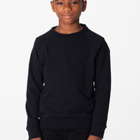 RSA5254 Youth California Fleece L/S Raglan