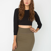 rsa7302 Interlock Pencil Skirt