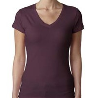 Ladies' Sporty V-Neck Tee