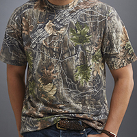 Lynch Traditions® Camouflage Short Sleeve T-Shirt