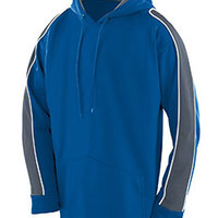 Youth Wicking Polyester Fleece Hoody