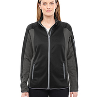 Ladies' Motion Interactive ColorBlock Performance Fleece Jacket