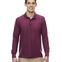 Adult DryBlend® 6.3 oz. Double Piqué Long Sleeve Polo