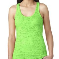 Ladies' Burnout Racerback Tank