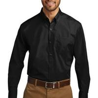Tall Long Sleeve Carefree Poplin Shirt