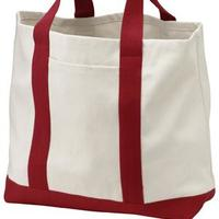 Two Tone Shopping Tote