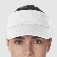 Adult Classic Cut Chino Cotton Twill Visor