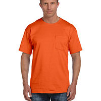 Fruit of the Loom 5 oz., 100% Heavy Cotton HD® Pocket T-Shirt