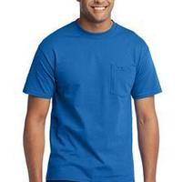 Port & Co. 50/50 Cotton/Poly T Shirt w/ Pocket