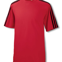 Adidas Men's ClimaLite® 3-Stripes T-Shirt