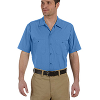 Dickies Men's Industrial Short Sleeve Work Shirt