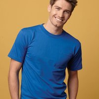 Union-Made Short Sleeve T-Shirt with a Pocket