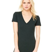 Bella Women's Triblend Deep V-neck Tee