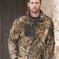 Quest Microfleece Full-Zip Jacket with Polyester Panels
