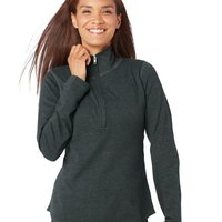 Women's Quarter Zip French Terry Pullover