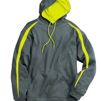 Pro Heather Fusion Performance Fleece Hooded Pullover