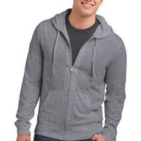 Young Mens Jersey Full Zip Hoodie