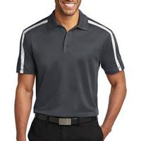 Silk Touch™ Performance Colorblock Stripe Polo