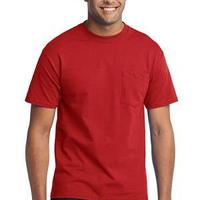 Port & Co. Tall 50/50 Cotton/Poly T Shirt with Pocket