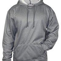 Pro Heather Hooded Sweatshirt