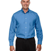 Devon & Jones Tall Men's Crown Collection™ Solid Broadcloth