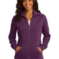 Ladies Slub Fleece Full Zip Jacket