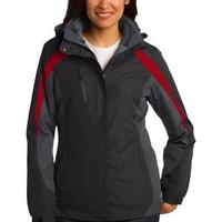 Ladies Colorblock 3 in 1 Jacket