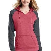 Juniors Lightweight Fleece Raglan Hoodie