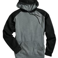 Pro Heather Colorblocked Hooded Sweatshirt