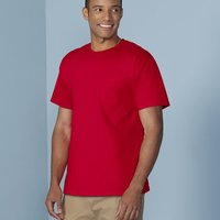 Heavy Cotton T-Shirt with a Pocket