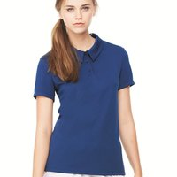 Women's Performance 3-Button Mesh Polo