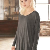 Women's Gauze Ramble Long Sleeve Raglan Tunic