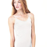 Women's Cotton Spandex Shelf Bra Tank
