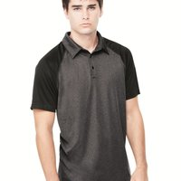 Performance 3-Button Raglan Polo