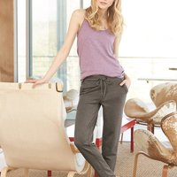 Women's Vintage French Terry Relay Race Pants