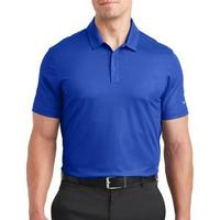 Nike Golf Dri FIT Embossed Tri Blade Polo