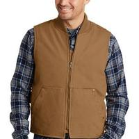 Washed Duck Cloth Vest