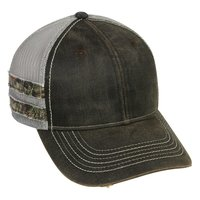 Frayed Camo Stripes Cap