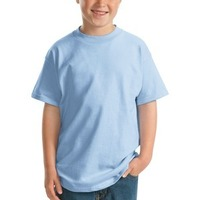 Hanes Youth Beefy T ® 100% Cotton T Shirt