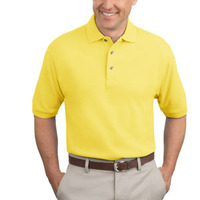 Heavyweight Cotton Pique Polo