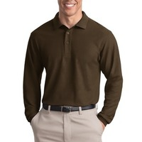 Port Authority Long Sleeve Silk Touch™ Polo