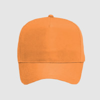 OTTO Neon Polyester Twill Five Panel Pro Style Baseball Cap