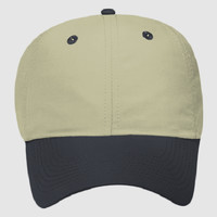 OTTO Polyester Microfiber Six Panel Low Profile Baseball Cap