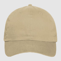 OTTO Brushed Promo Cotton Twill Six Panel Low Profile Baseball Cap